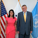 July 18, 2017 - 2:09pm - Ambassador Haley meets with Jan Kubis, Special Representative of the Secretary-General for UNAMI, July 18, 2017