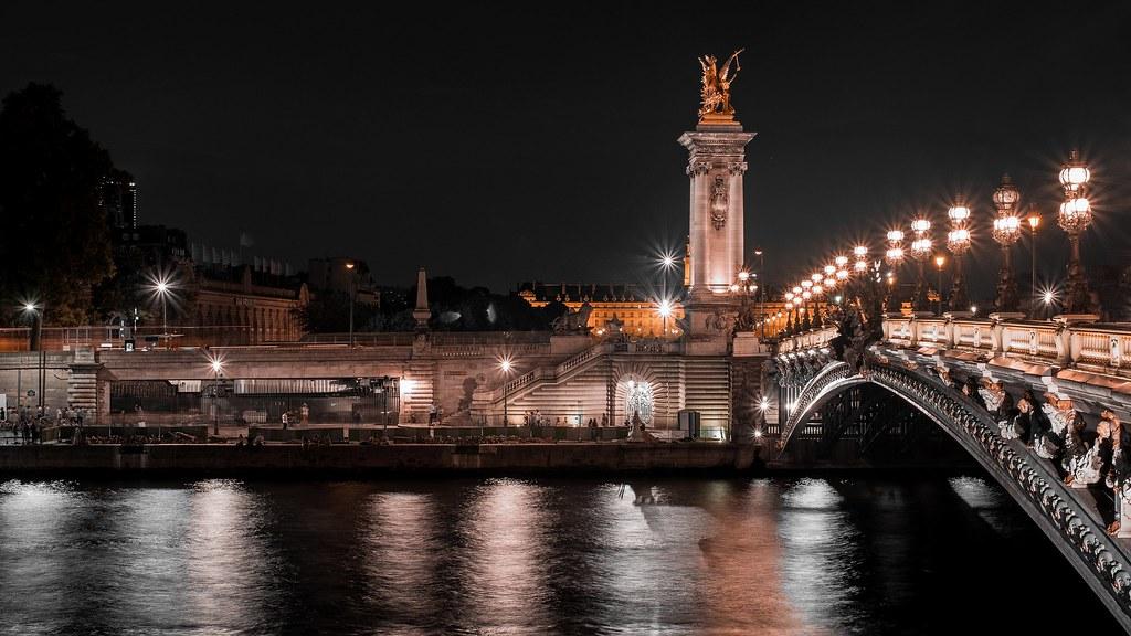 The Pont Alexandre III