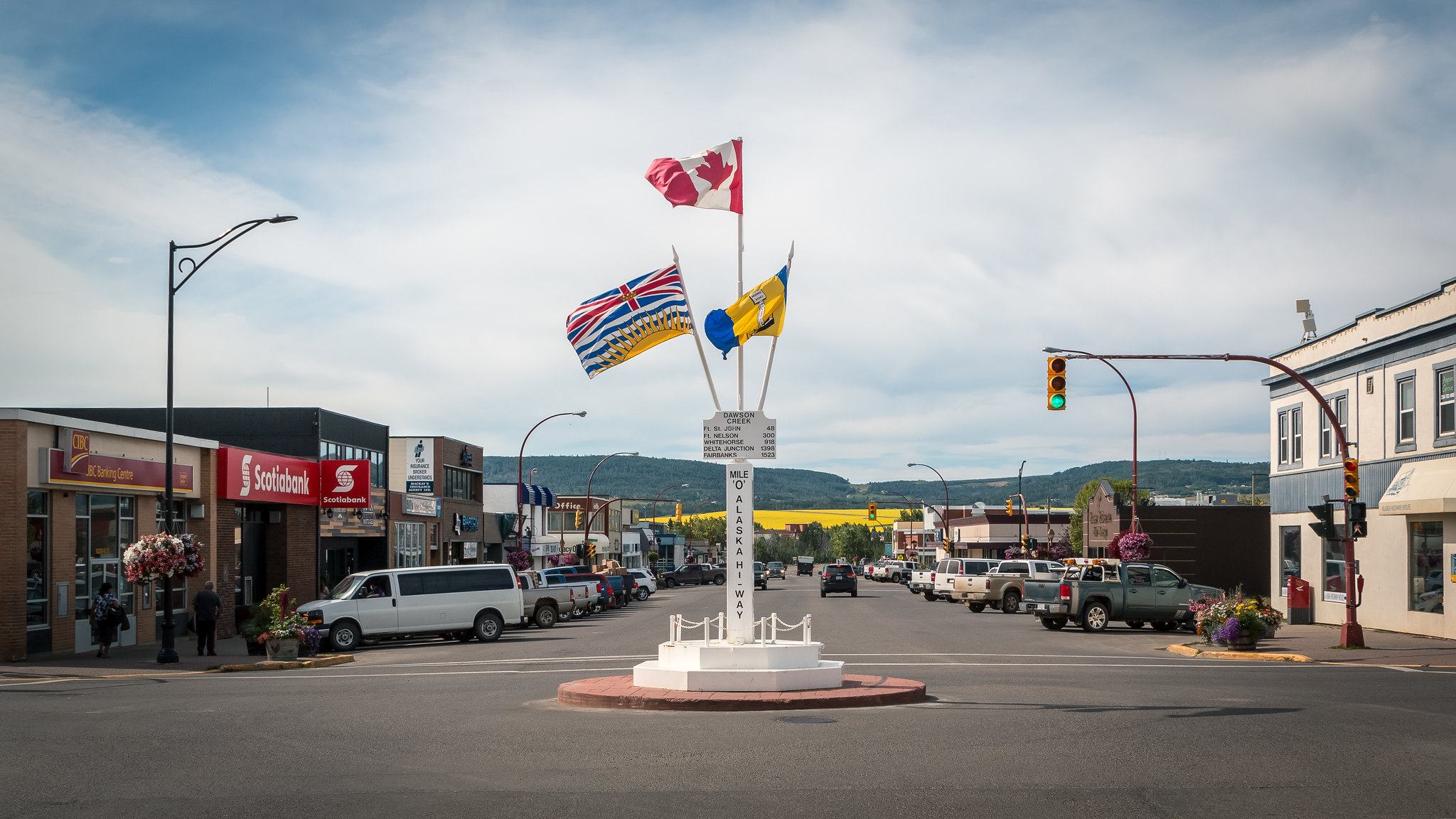 Dawson Creek - Colombie-Britannique - [Canada]