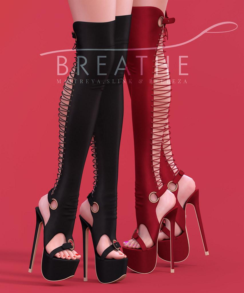[BREATHE]-Lijuan Heels - SecondLifeHub.com