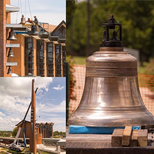 The campanile bells were restored this summer and are back and ready to welcome students back to campus this fall with their melodious chimes!