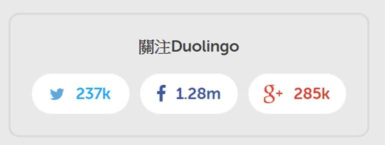 Duolingo的社群數字
