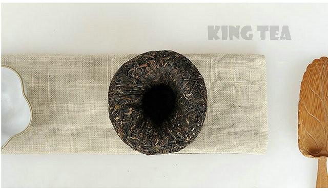Free Shipping 2010 XiaGuan LvYanYuan Tuo Bowl 100g YunNan MengHai Organic Pu'er Raw Tea Weight Loss Slim Beauty Sheng Cha