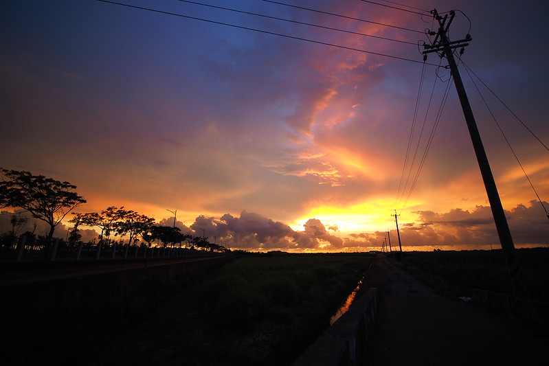 Fire in the Sky.|嘉義 Chiayi
