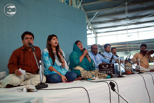 Devotional song by devotees from Avtar Enclave, Delhi