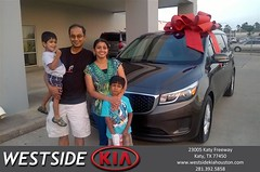 #HappyBirthday to Anand from Jason Taylor at Westside Kia!