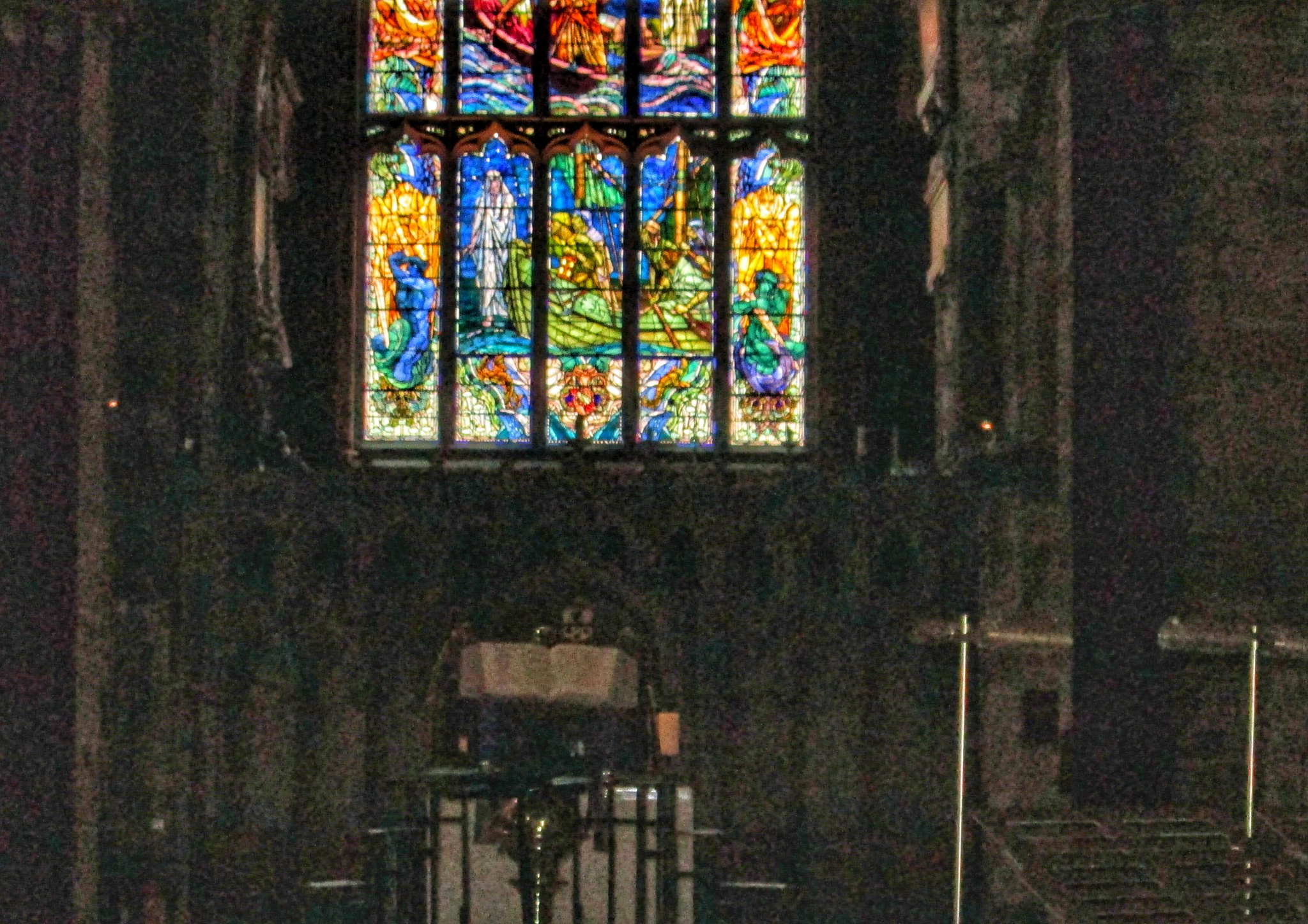 St Giles Cathedral stained glass window 2