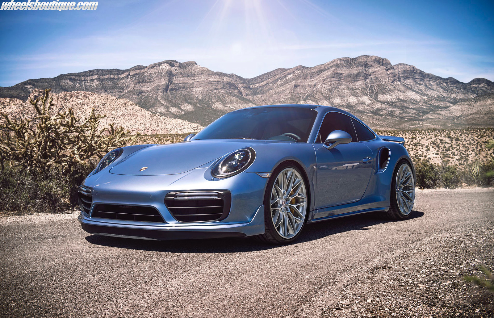 A Must See Ice Blue Metallic 991 Turbo S On Hre P200 S By