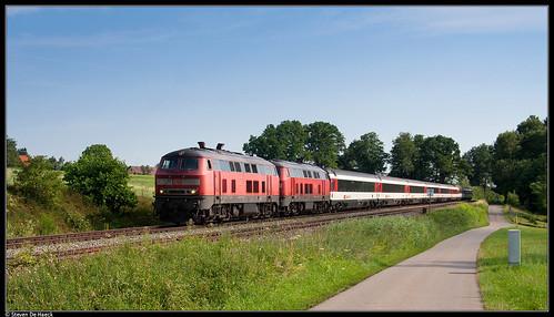 DB 218 465-3 @ Mollenberg