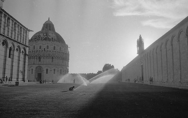 Pisa , piazza dei miracoli