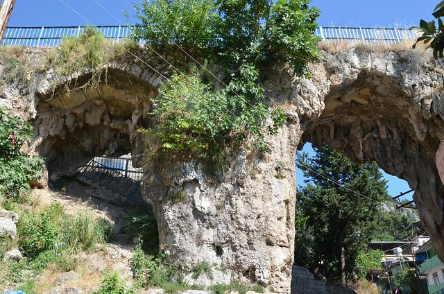 Trajan/Hadrian's aqueduct today, Antioch on the Orontes, Antakya, Turkey