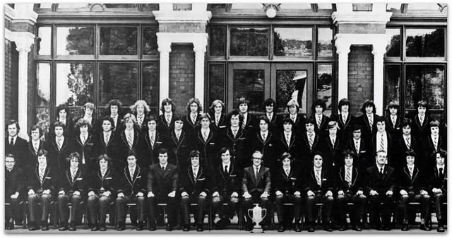 Xavier Public Schools athletics team c 1976