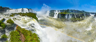 The devil's throat at Iguazú Falls