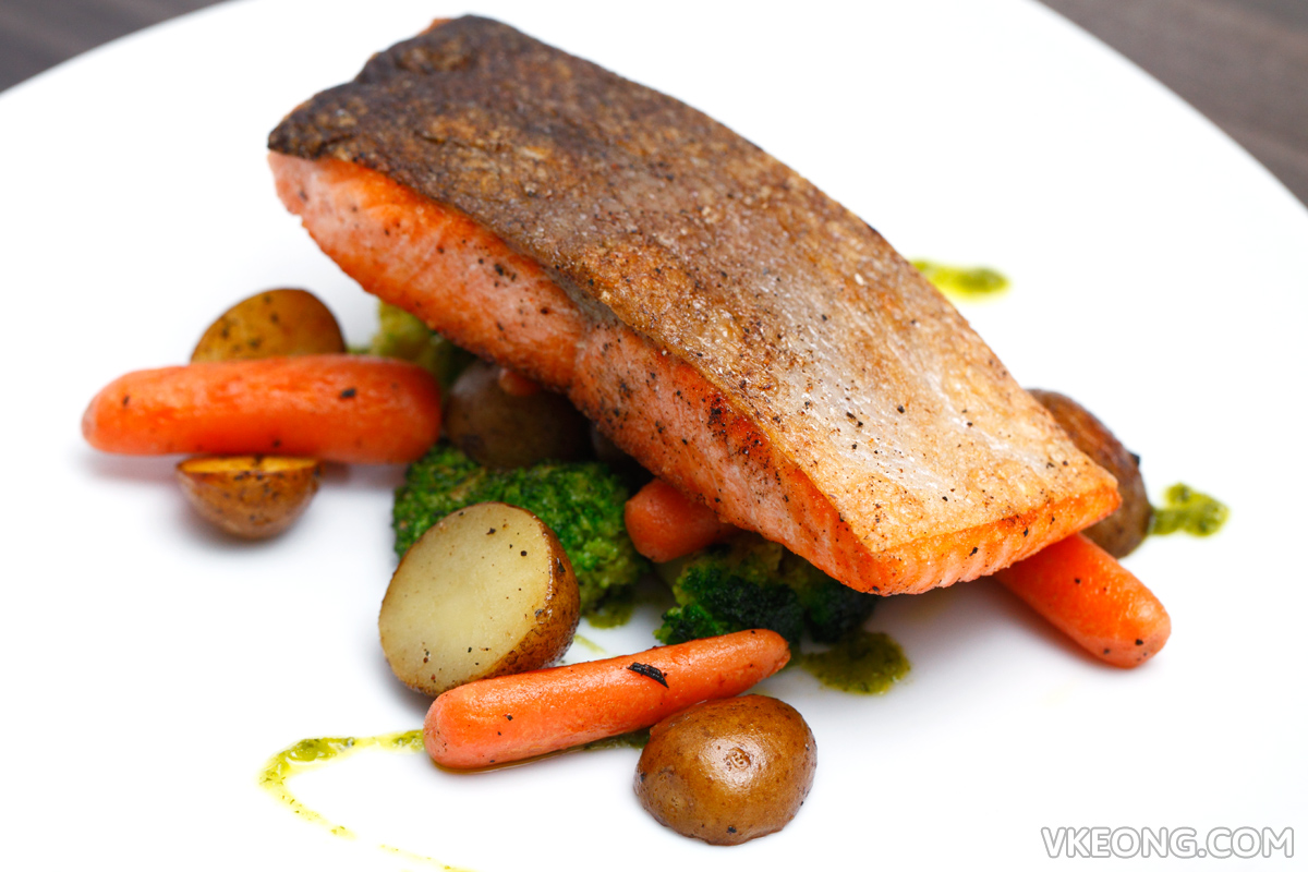 The Establishment Pan Fried Salmon