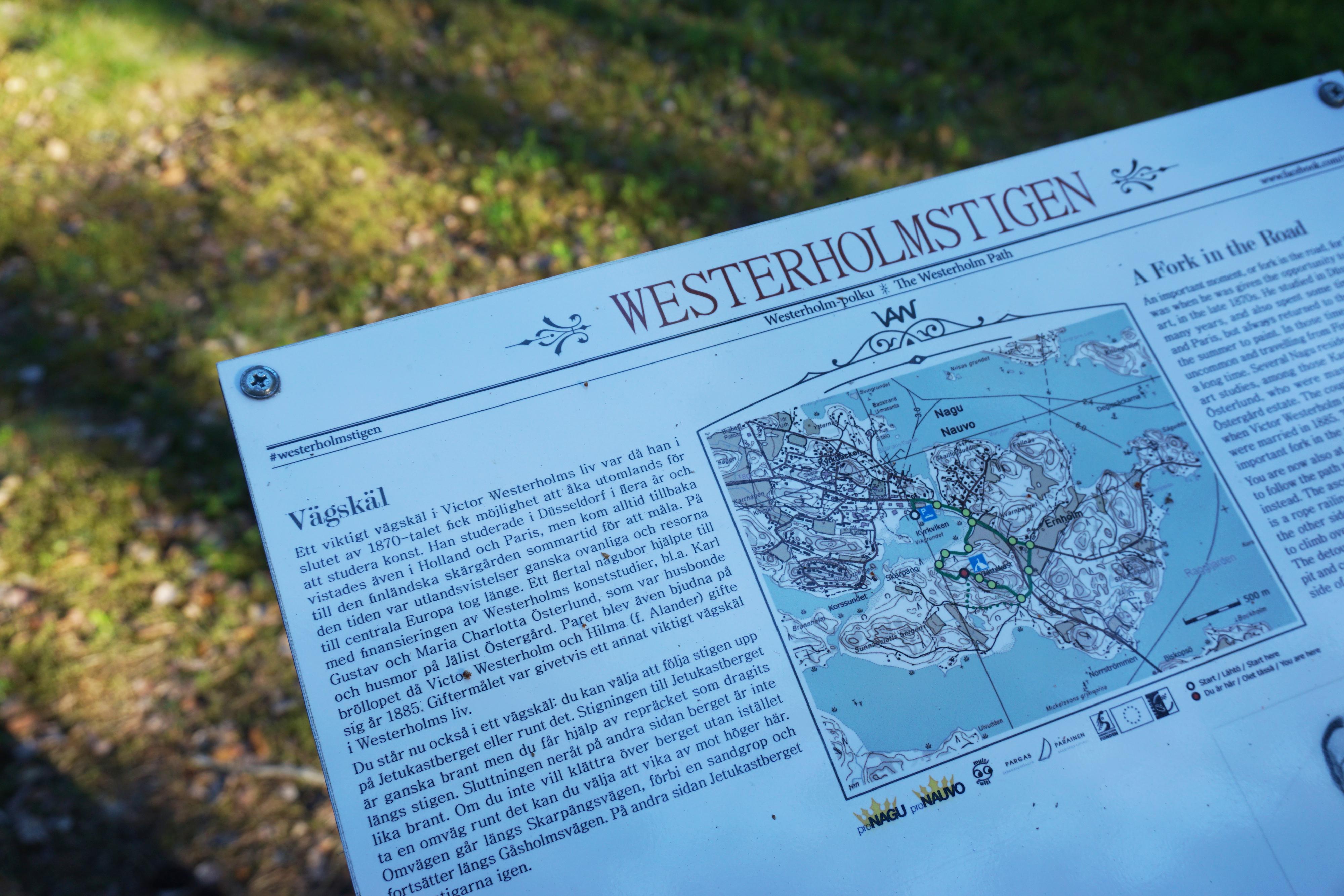 Westerholmstigen