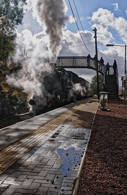 Scottish Steam Bash 2008: Hanging Around