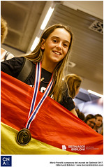 María Perelló campeona del mundo de Optimist 2017.