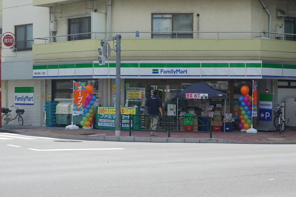 ファミマ(江原町)