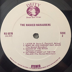 THE MASKED MARAUDERS:THE MASKED MARAUDERS(LABEL SIDE-B)