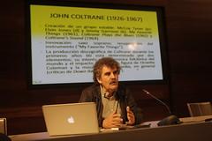Patric Goailde (conferencia sobre John Coltrane) © Lolo Vasco_52 Heineken Jazzaldia_01