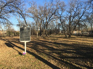 McCombs Cemetery and Marker