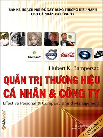 Quản Trị Thương Hiệu Công Ty và Cá Nhân - Hubert K. Rampersad