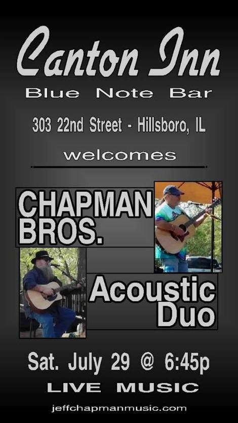 Chapman Bros 7-29-17