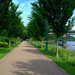 Park walkway in Preston