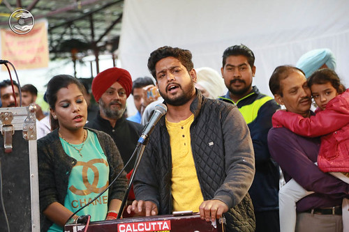Devotional song by Ankur Singh from Delhi