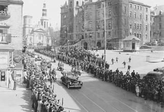 King George VI and Queen Elizabeth in Québec, Quebec / Le roi George VI et la reine Élisabeth à Québec (Québec)