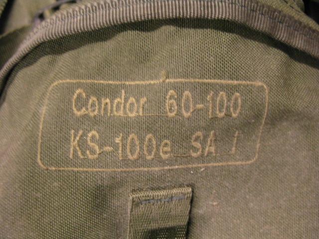 Karrimor Condor, Canon POWERSHOT G9