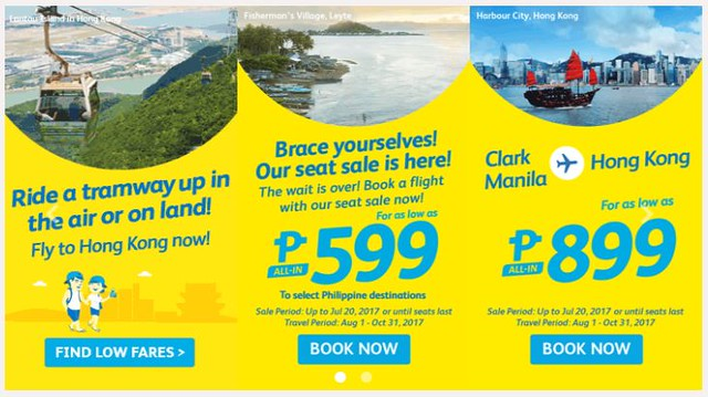 Cebu Pacific Air Promo Wait is Over