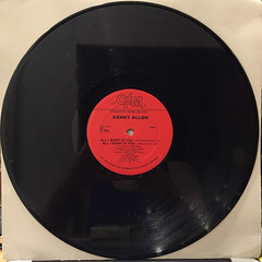 KENNY ALLEN:ALL I WANT IS YOU(RECORD SIDE-A)