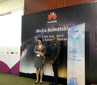 Huawei partners with WorldRemit