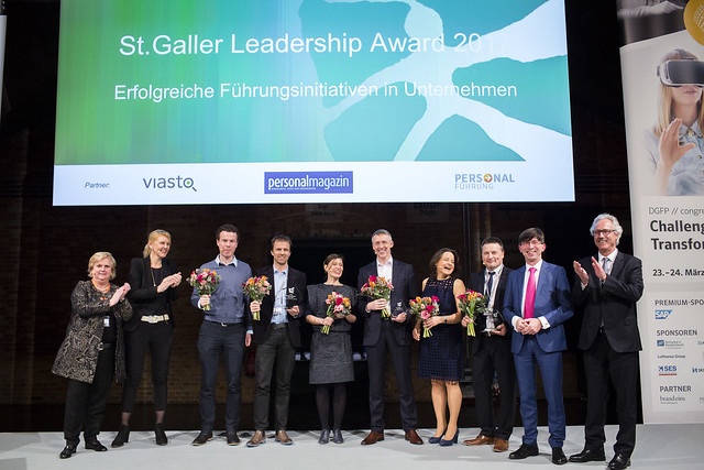 St.Galler Leadership Award 2017 Berlin