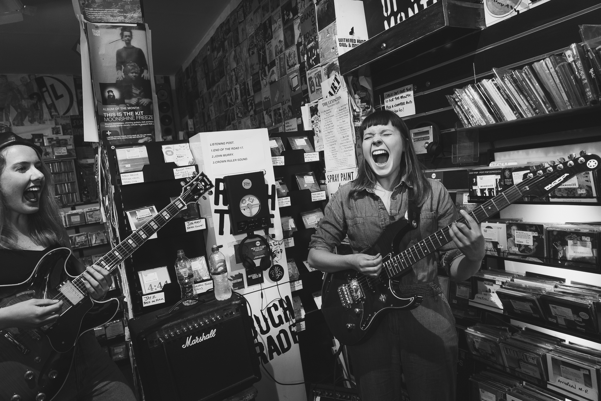 Gurr at Rough Trade West