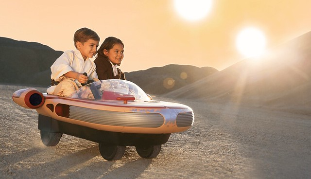 這絕對是夢幻的兒童電動車!!Radio Flyer 星際大戰四部曲:曙光乍現【X-34 陸行艇】X-34 Landspeeder