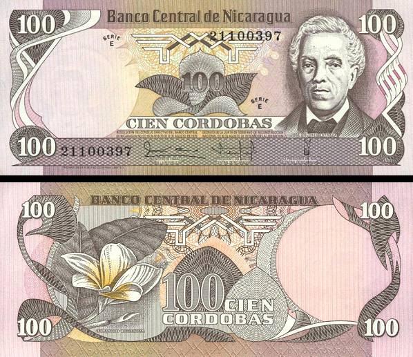 20 Cordobas Nikaragua 1979, P135