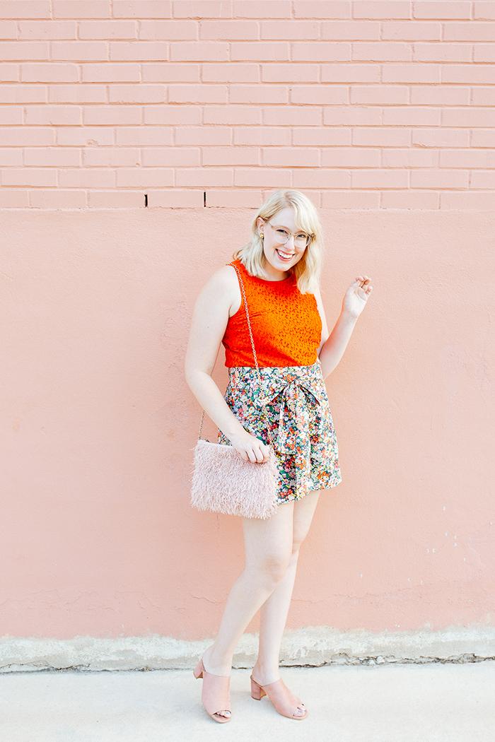 austin style blogger writes like a girl jcrew liberty floral shorts6