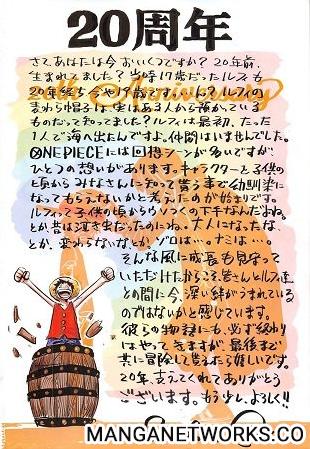 35954301485 bb97475cd2 o Eiichiro Oda hé lộ thời điểm kết thúc One Piece và khuyên độc giả gắng thêm chút nữa thôi