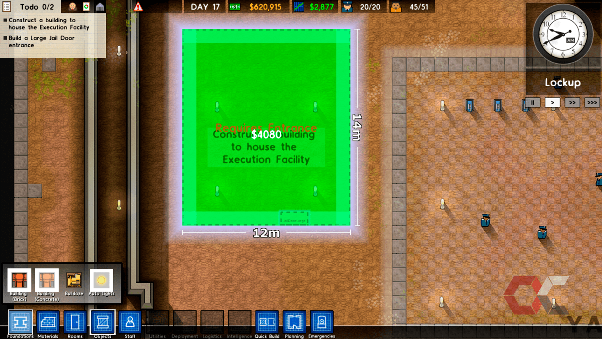 prison architect review - overcluster 4
