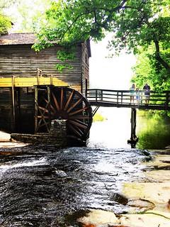 Grist Mill, Stone Mountain Park, Georgia