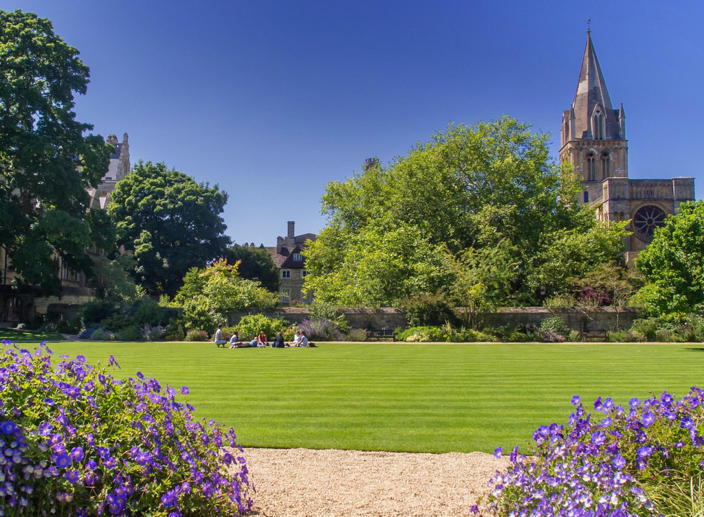 Masters Garden, Christ Church College, Oxford. Credit Ed Webster