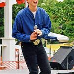 Teen Boy Singer Performing, Main Street Days, 1998