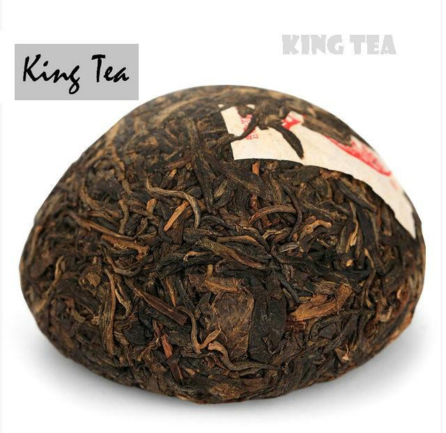 Free Shipping 2006 XiaGuan HeHe Boxed Tuo Bowl Nest 125g * 4 = 500g YunNan MengHai Organic Pu'er Raw Tea Weight Loss Slim Beauty Sheng Cha