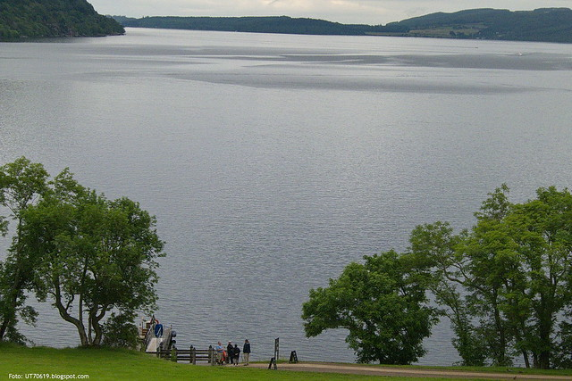 Loch Ness bei Urquhart Castle