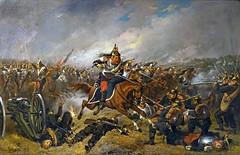 La charge des cuirassiers de T. Lévigne (musée de la bataille du 6 août 1870, Woerth)
