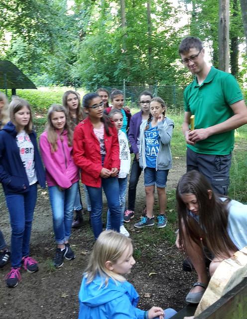 Waldprojekt der 6. Klassen