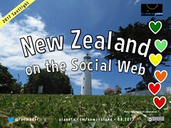 New Zealand on the Social Web 08.2017