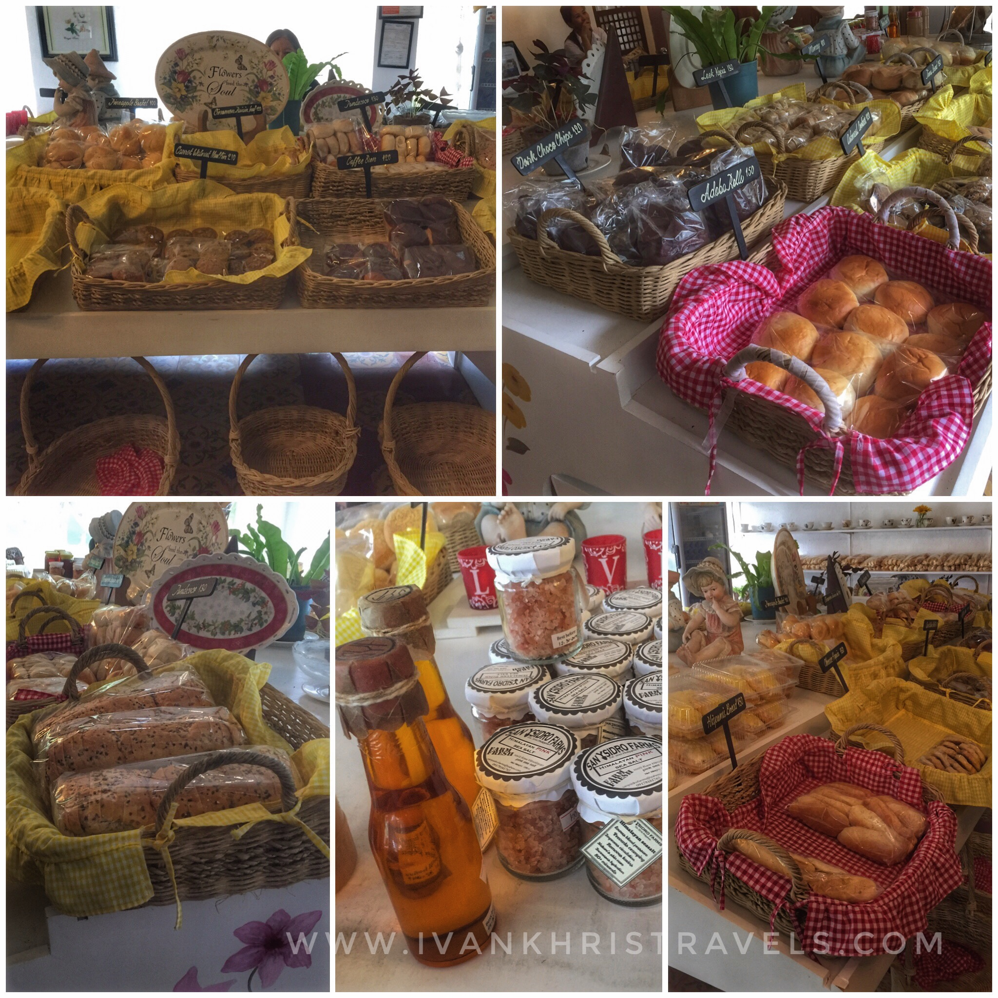 Sonya's Garden breads and pastries in bakeshop